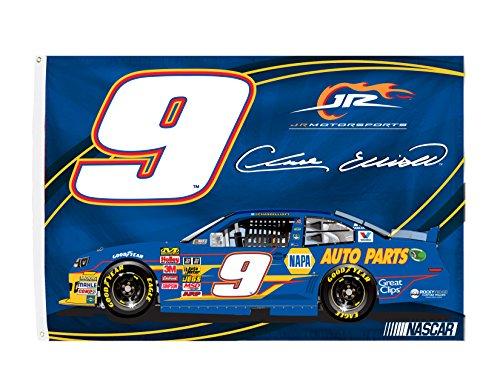 Chase Elliott #9 3' x 5' One Sided Car Flag