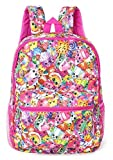 Shopkins Girls' All Over Print Backpack (Multi Pink, One Size)