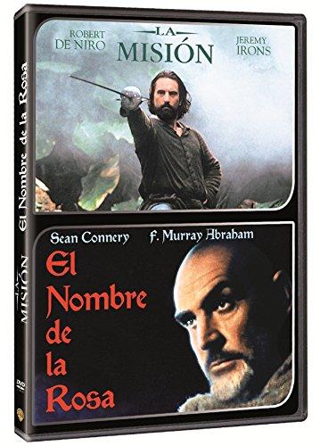 Pack El Nombre De La Rosa + La Mision [DVD]: Amazon.es: Robert De Niro, Jeremy Irons, Liam Neeson, Aidan Quinn, Ray McAnally, Cherie Lunghi, Sean Connery, F. Murray Abraham, Valentina Vargas, Christian