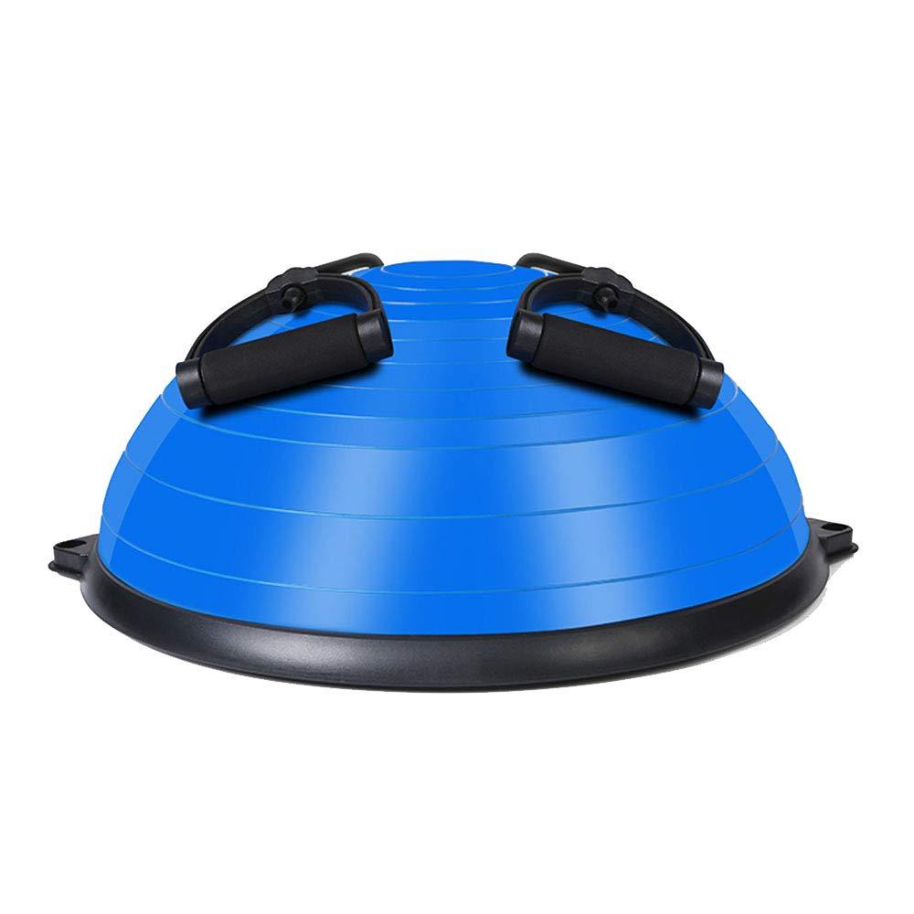 TESITE Yoga Ball Fitness Ball Gewichtsverlust Rehabilitationstraining TrainingsgeräT (Blau 58  23cm)
