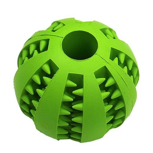 Juguetes para perros mascotas Pelota de goma extra resistente ...