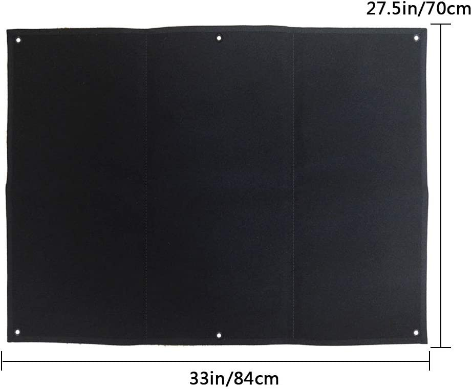 Tactical Military Patch Holder Board Gancho y lazo Moral Patch Panel (84 x70cm)