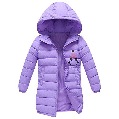 - Kids Girls Winter Hooded Coat - LSERVER Warm Girls Down Cotton Puffer Jacket Parkas