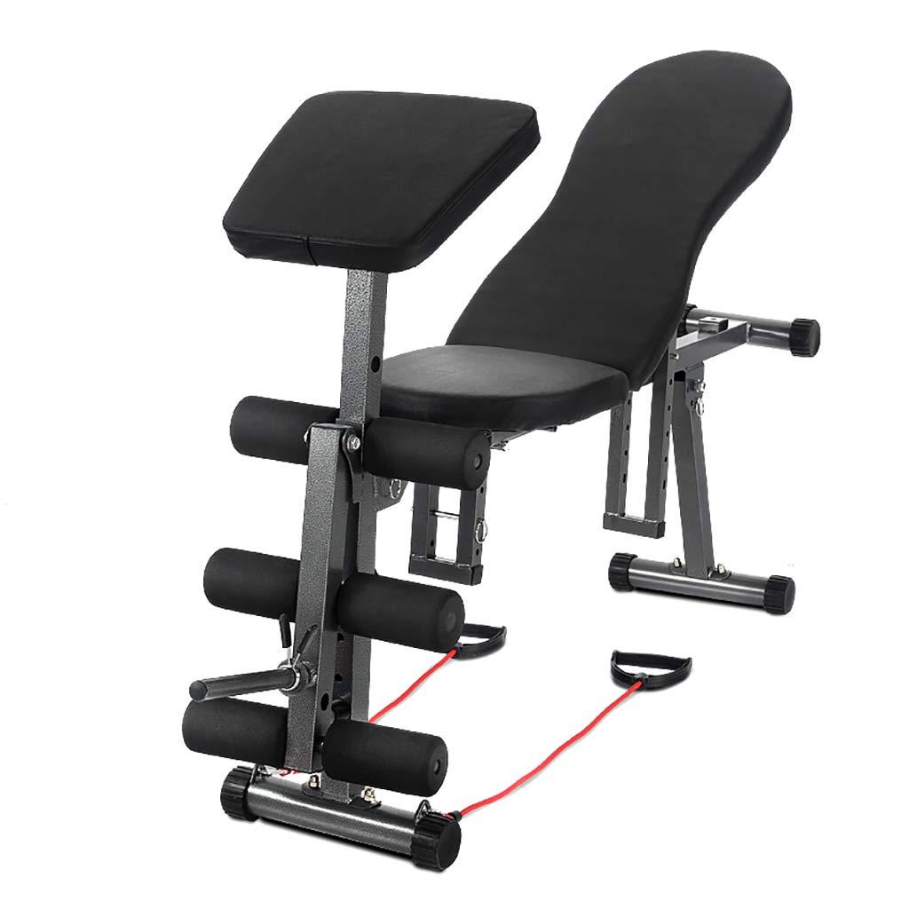Banco de ejercicios con pesas ajustables, 5 en 1 Banco de pesas de ...