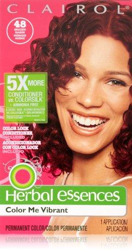 Herbal Essences Color Me Vibrant Permanent Hair Color 048 Brazen Raisin 1 Kit Brazen Raisin