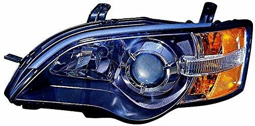 Suburu Legacy 05 Headlight Assembly Black LH USA Driver Side NSF DEPO