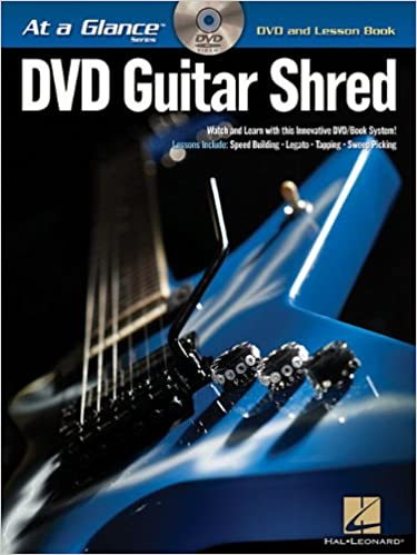 guitar shred dvd book pack at a glance