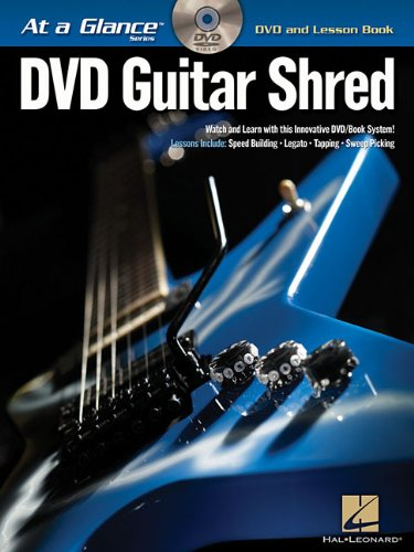 Guitar Shred BK/DVD At a Glance Series DVD and Lesson Book