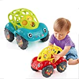Baby Car Doll Toy Crib Mobile Bell Rings Grip Gutta Percha Hand Catching