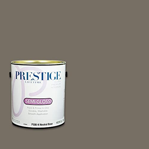 Prestige Interior Paint and Primer In One, 1-Gallon, Semi-Gloss, Muffin