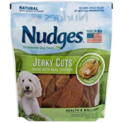 2 Pack of Nudges Chicken Health and Wellness Jerky Dog Treats
