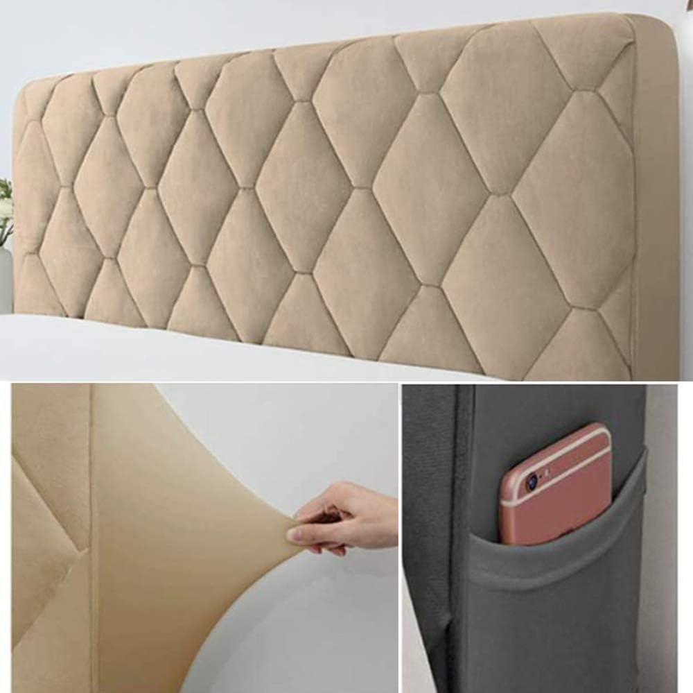 47inch Premium All-inclusive Testata Matrimoniale Addensare Anti-collisione Cuscino,Pink-120cm Copertura Per Testiera Per Letto Copri Testata Letto Fodera Elastica Protezione