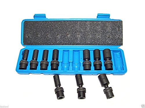 Cypress Shop Universal Swivel Deep Impact Socket Set 3/8
