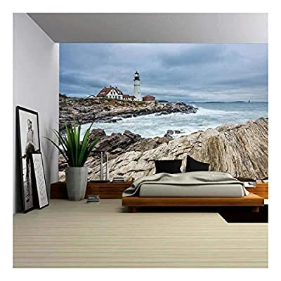 Incredible Composition, Premium Creation, Portland Head Lighthouse in Cape Elizabeth Maine