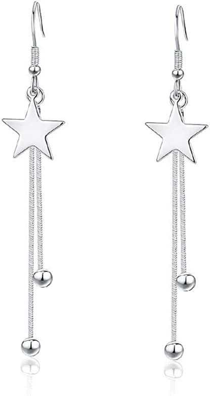 Drop Earrings Hypoallergenic and Elegant Earrings with a Charm Jewelry Gift Box for Women and Girls