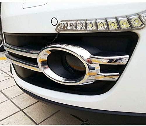 ZFXNB Grille De Feux De Brouillard Avant De Voiture Abs Sport Pare-Chocs Avant Calandre en Nid dabeille Grille Inf/érieure Antibrouillard pour Audi Q5 2009~2012 Accessoires De Style De Voiture