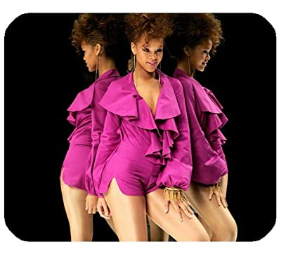 "Rihanna Mousepad Personalized Custom Mouse Pad Oblong Shaped In 9.84""X7.87"" Gaming Mouse Pad/Mat"