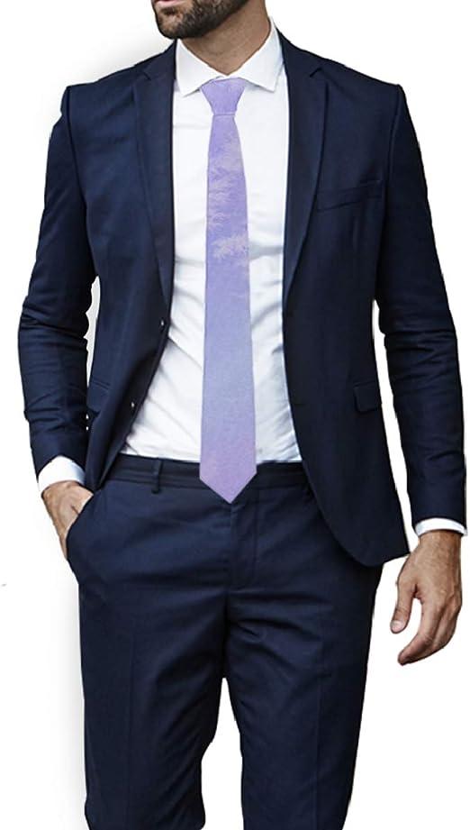 Azul acuarela tinta sombreado patrón lazos para hombres ...