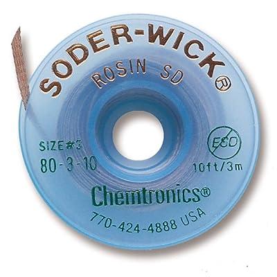 Chemtronics 80-3-10 Soder-Wick Rosin SD Desoldering Braid: Industrial & Scientific