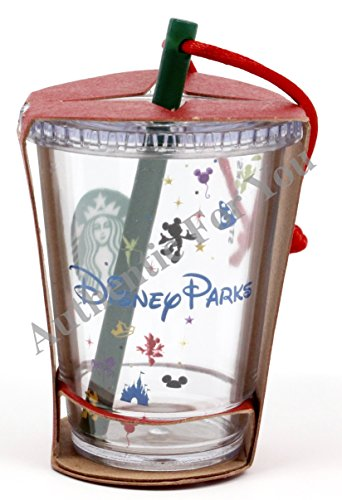Disney Parks Exclusive Starbucks Clear Cold Cup with Straw 3