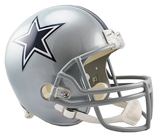 NFL Dallas Cowboys Deluxe Replica Football Helmet]()
