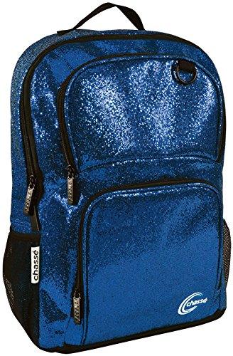 Chassé Glitter Cheer Backpack For Girls - Cheerleading Travel Bag For Cheerleaders]()