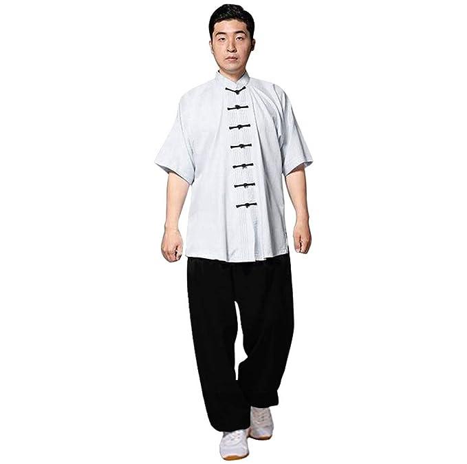 Amazon.com: kikigoal Unisex Ropa de Tai Chi uniformes traje ...
