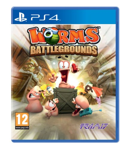 Worms Battlegrounds Sony Playstation Game product image