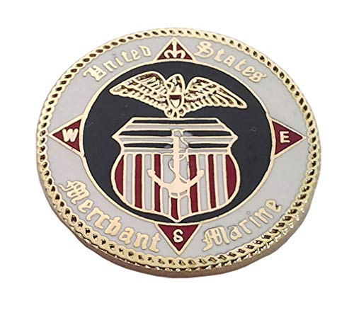 (United States Merchant Marine US Navy Hat Pin 15825 HO)