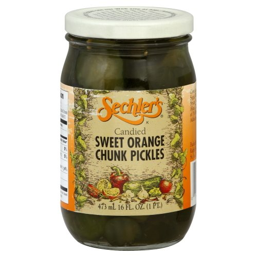 Pickle Candied Swt Orng Chnks (Pack of 6) ()
