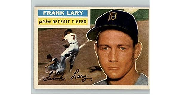 1956 Topps #191 Frank Lary Detroit Tigers Baseball Card Verzamelkaarten: sport