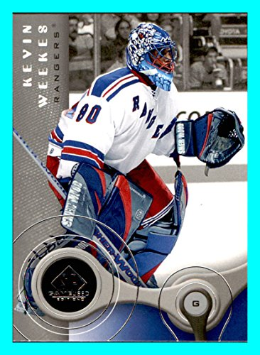 2005 Nhl Stanley Cup - 2005-06 SP Game Used #66 Kevin Weekes NEW YORK RANGERS NHL Network Analyst