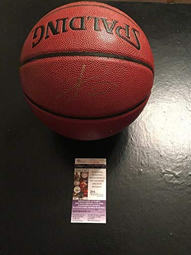 Carmelo Anthony Thunder Auto Autographed Signed Autograph Basketball Ball Sports Memorabilia JSA Cert (Carmelo Anthony Autographed Basketball)