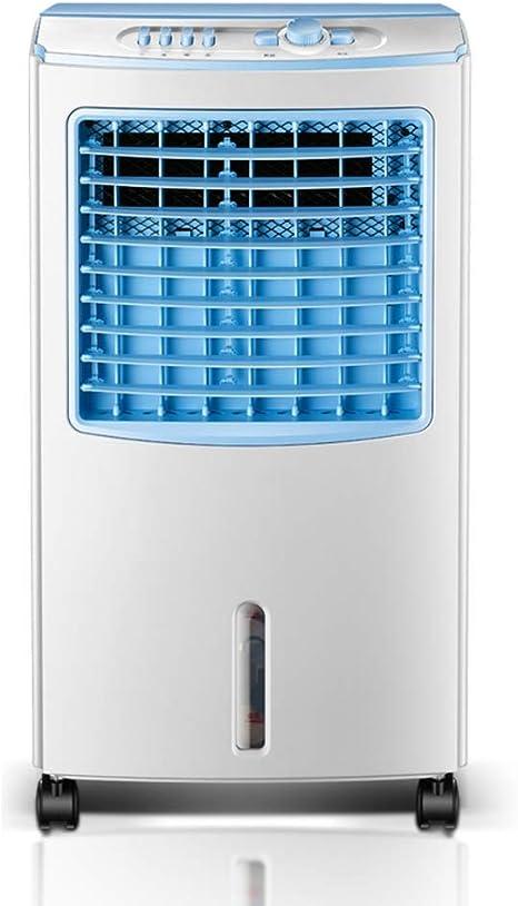 Enfriamiento silencioso Viento súper fuerte Industrial 3-en-1 Ventilador mecánico aire acondicionado con humidificador ventilador y función purificador aire, 3 velocidades ventilador con oscilación,: Amazon.es: Deportes y aire libre
