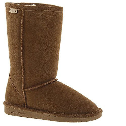 BEARPAW  Emma Tall Youth Boot,Hickory/Champagne,2 M US Little Kid ()