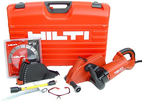Hilti 03482167 DCH 230 9-Inch Electric Diamond Cutter UP Professional Starter Package with Case