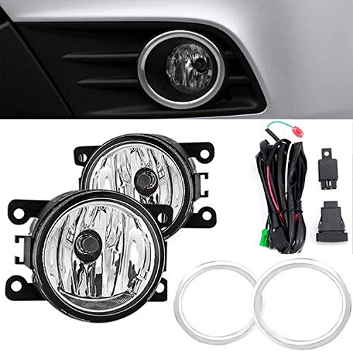 Remarkable Power Fit For 2012 2013 2014 2015 Hondaa Pilot Front Pair Fog Lights Driver Bumper Lamps Clear Kit FL7034