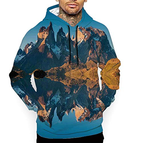 Hoodies for Men Pullover Active Lightweight Sweatshirt with Kangaroo Pocket