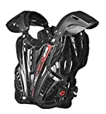 EVS Sports VEX Chest Protector (Black/Black, Large)