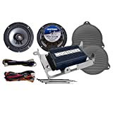 Hogtunes Rev Series 200 Watt 2 Speaker Amp Kit for 2014 & Newer Harley-Davidson Street Glide models