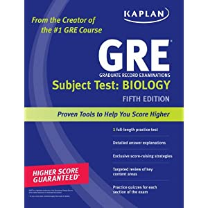 Kaplan GRE Subject Test: Biology (Kaplan GRE Biology) 5th edition