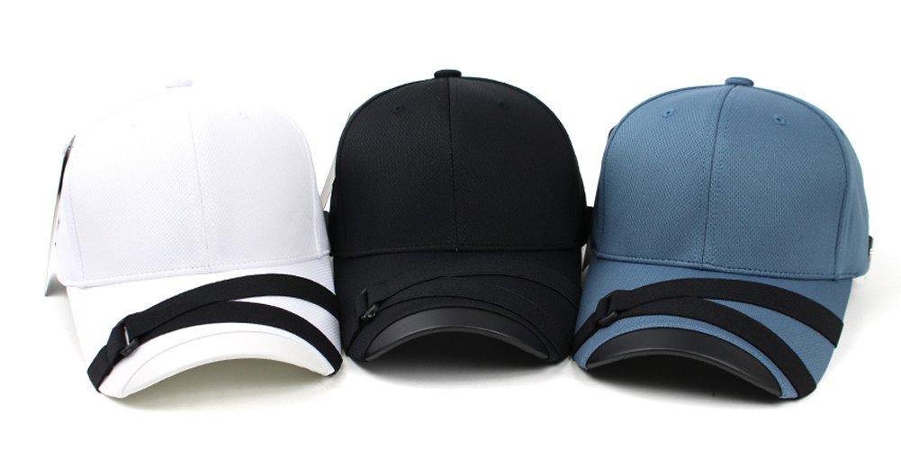 POPKORS Teamlife Cool Max Webbing Strap Visor Brim Baseball Golf Cap  Ballcap Trucker Hat   Baseball Caps   Clothing 6bfc3206cd10