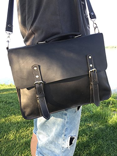 leather briefcase men's leather bag Mens messenger bag mens leather satchel Leather Shoulder Bag leather Laptop bag MacBook Leather Bag