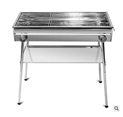 Amazon.com : BUTFSYH Portable BBQ Charcoal Grill Easy Assemble ...