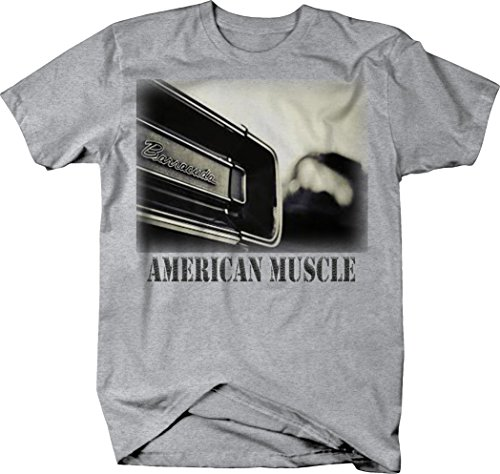 OS Gear American Muscle Barracuda 'Cuda Muscle Car Classic Hotrod Tshirt - Large