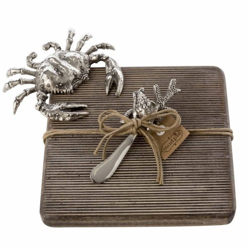 Crab Cutting Board Set by Mud Pie