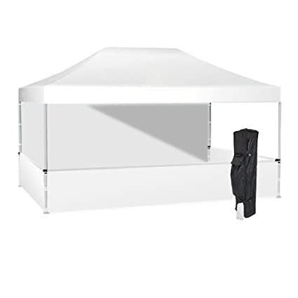 Amazon.com : Vispronet 10x15 White Canopy Tent Kit - Resists up to ...