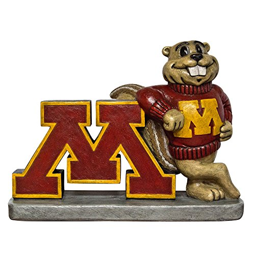Minnesota Golden Gophers NCAA ''Golden Gopher'' College Mascot 16in Full Color Statue by Stone Mascots