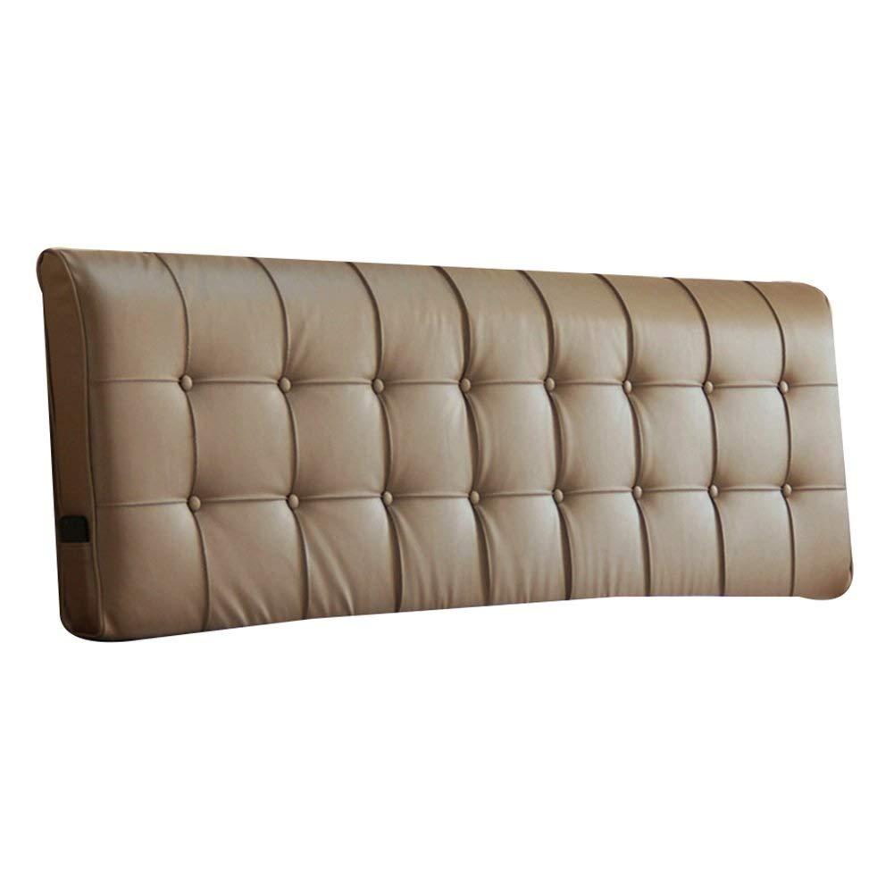 日本最大級 ベッドサイド クッション ベッドの背もたれ ヘッドボード ベッドサイド カバー ベッド バックレスト クッション 柔らかい ヘッドレスト 布張り 腰椎 パッド ファッション、 9色、 マルチサイズ (色 : ブラック, サイズ さいず : 163x10x55cm) B07RBSTQB9 203x10x55cm|Sauce Sauce 203x10x55cm, 家具インテリアのジェンコ 00e837b5