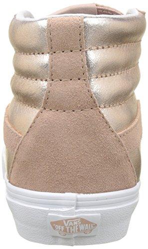 Checker True Rose Sk8 Mix Hi Skate Unisex VN0A38GEQ9B Shoes White Mahogany True Vans White Black AwIqY1